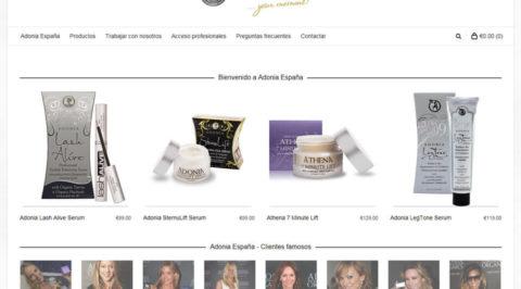 the web design company Adonia