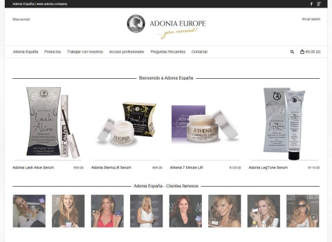 the web design company Adonia