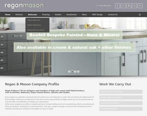 the web design company Regan-Mason