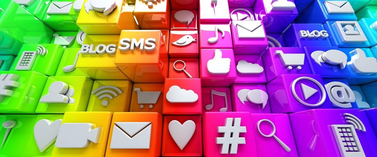 the web design company social media