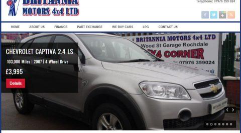 the web design company Britannia