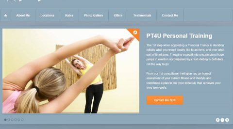 the web design company PT4U