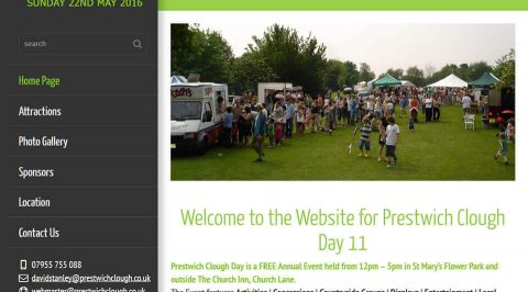 the web design company Prestwich Clough Day