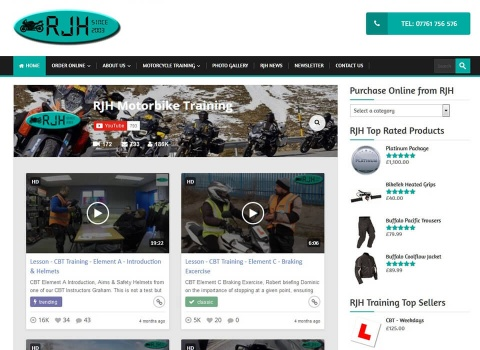 the web design company RJH