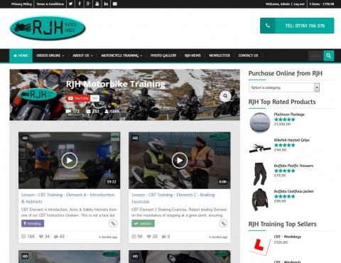 the web design company RJH