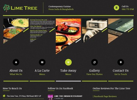 the web design company The-Limetree