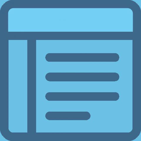 CMS – Brochure Website the web design company
